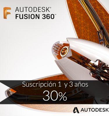 Fusion 360 software diseño y simulación oferta